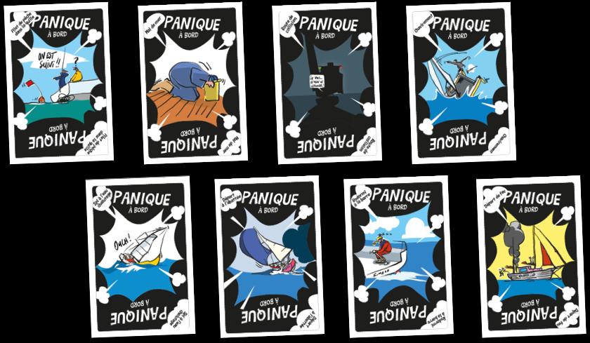 Les cartes panique à bord !